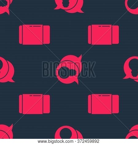 Set Eraser Or Rubber And Light Bulb With Concept Of Idea On Seamless Pattern. Vector