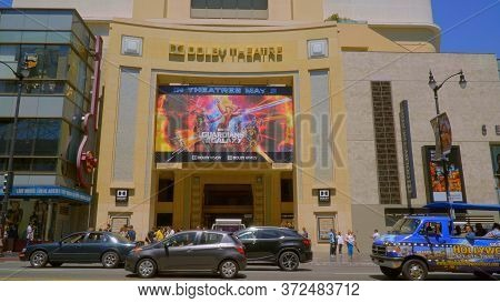 Dolby Theater At Hollywood And Highland In Los Angeles - Los Angeles, Usa - April 21, 2017