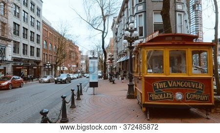 Vancouver Old Trolley Tours - City Of Vancouver, Canada - April 11, 2017