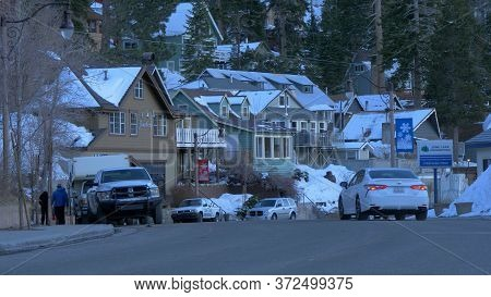 Village Of June At Inyo County In Winter - Bishop, United States - March 29, 2019