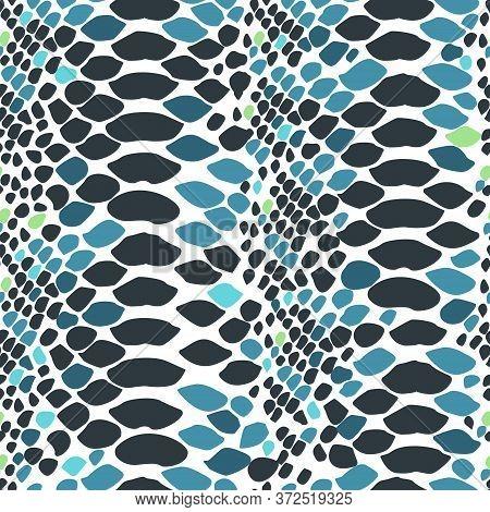 Imitation Of Snake Skin.animalistic Patterns, Trend Of The Season.