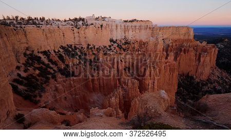 Fantastic View Over Wonderful Bryce Canyon In Utah - Usa 2017