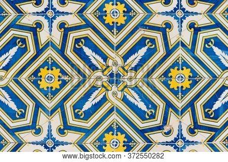 Beautiful Traditional Ornate Portuguese Decorative Tiles Azulejos.