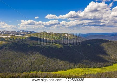 The Rocky Mountains Stretch Some 3,000 Miles From British Columbia And Alberta In Canada Through Ida