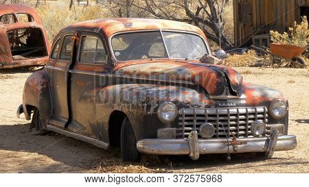 Old And Rusty Car - Benton, United States - March 29, 2019