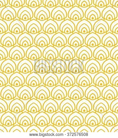 Repetitive Creative Graphic 1920 Plexus Texture. Seamless Line Vector Luxury Repetition Pattern. Rep