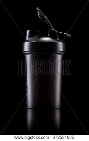 Plastic Protein Shaker For Sport Nutrition Like Whey Protein Or Bcaa Isolated