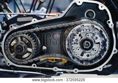 Serious Motorcycle Repair Disassembled Inside