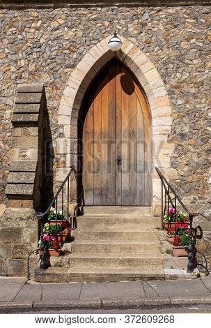 The Door To The United Reform Church, High Street, Petworth, Sussex