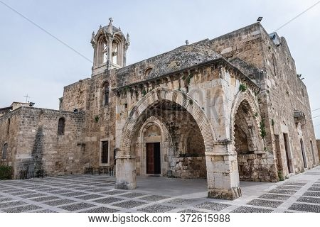St John Marcus Maronite Church In Byblos, Lebanon, One Of The Oldest City In The World