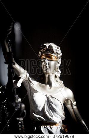 Female Figure Representative Of Justice. Themis. No People