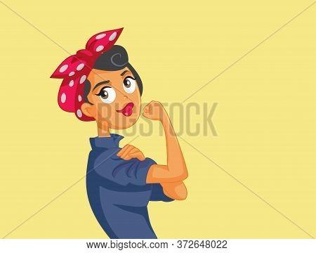 Feminist Movement Symbol Vector Character Poster Art