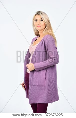 Glamour Fashion Collection. Shopping On Black Friday Sale. Looking So Trendy. Pretty Woman Blond Hai