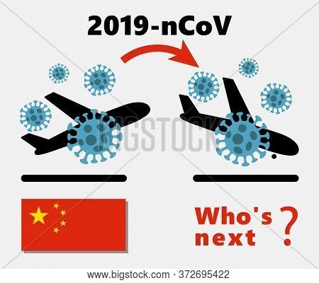 Mers-cov Middle East Respiratory Syndrome Coronavirus , Novel Coronavirus 2019-ncov , Icon Of Depart
