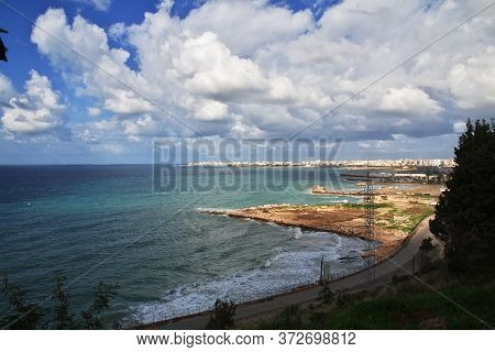 The Seafront In Tripoli City, Lebanon