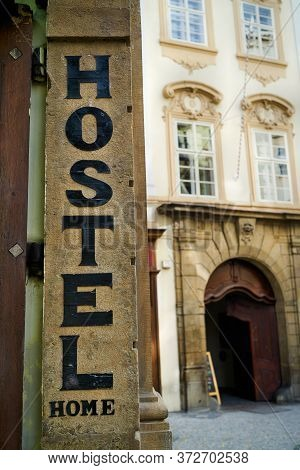 Hostel In The Historical Centre Of Prague In The Czech Republic