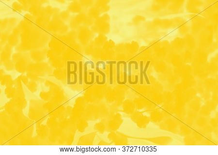 Vivid Yellow Abstract Patchy Background. Shades Of Yellow