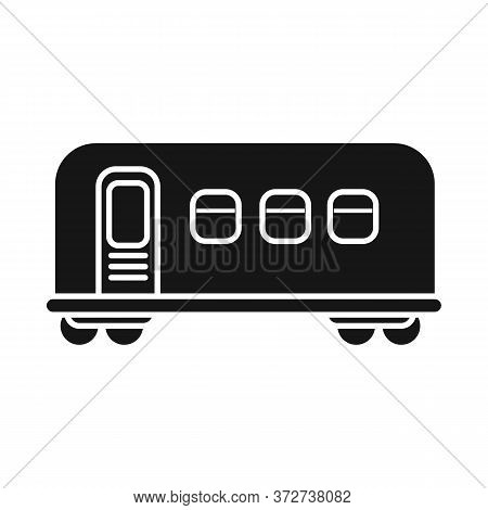 Vector Design Of Wagon And Metro Icon. Web Element Of Wagon And Steel Stock Vector Illustration.