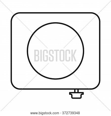 Vector Design Of Stove And Furnace Symbol. Web Element Of Stove And Appliance Stock Symbol For Web.