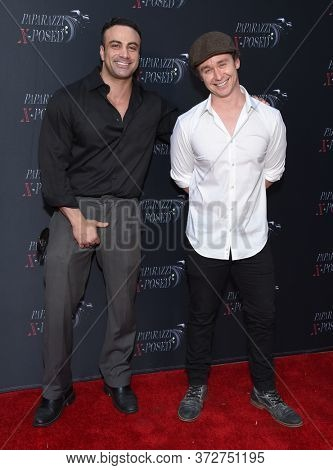 LOS ANGELES - JUN 15: Marty York and Victor Dimattia arrives for 'Paparazzi X-Posed' Red Carpet Premiere on June 15, 2020 in Studio City, CA