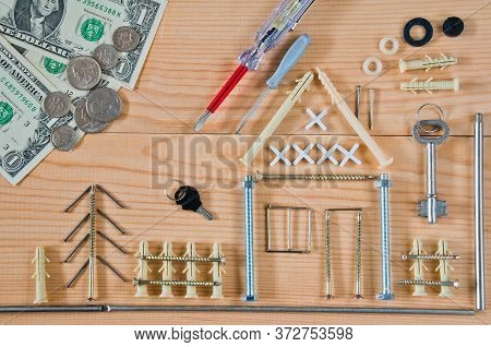 Mortgage Concept For Buying Or Building A Home