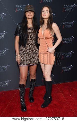 LOS ANGELES - JUN 15: Sunny Malouf and Brighton Sharbino arrives for 'Paparazzi X-Posed' Red Carpet Premiere on June 15, 2020 in Studio City, CA