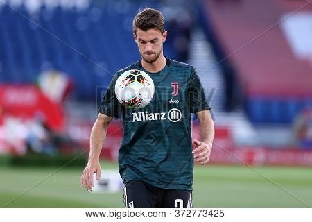 Roma. Italy. 17th June 2020. Italian Cup Final. Ssc Napoli Vs Juventus Fc .  Daniele Rugani Of Juven