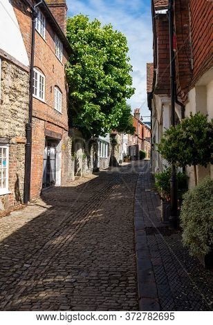 A View Of Lombard Street, Petworth, West Sussex, Uk