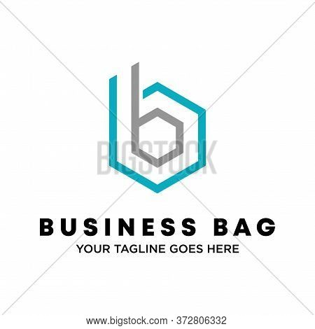 Logo, Design, Vector, Symbol, Idea, Concept, Image, Graphic, Font, Bb Or Double B With A Hexagon Sha