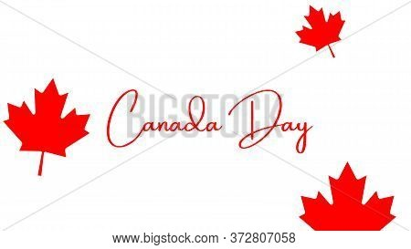 Canada, Symbol, Country, Flag, National, Canadian, Background, Leaf, Illustration, Nation, Banner, D