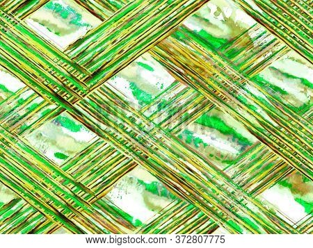 Animal Camouflage Background. African Pattern. Zebra Skin Print. Stripes Seamless Pattern. Geometric