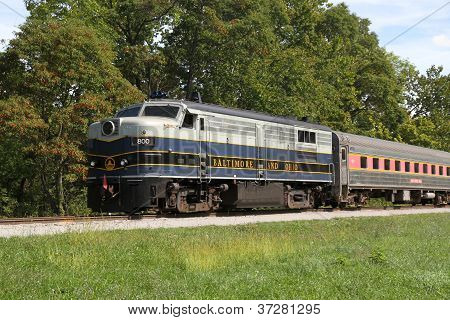 B&O Diesel Locomotive