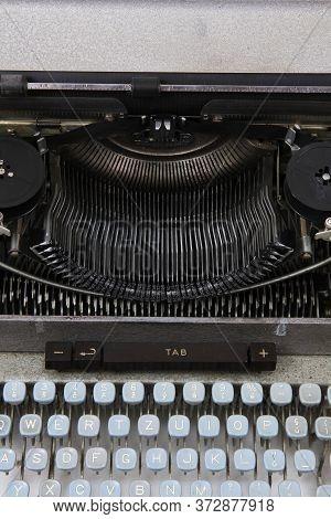 Detail Of Typing Machine