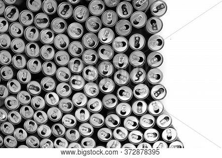 Empty Aluminum Cans Texture