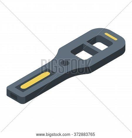 Modern Metal Detector Icon. Isometric Of Modern Metal Detector Vector Icon For Web Design Isolated O