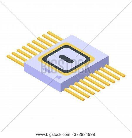Engineering Radio Piece Icon. Isometric Of Engineering Radio Piece Vector Icon For Web Design Isolat