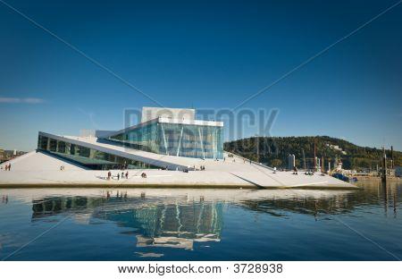 The Opera In Oslo, Norway