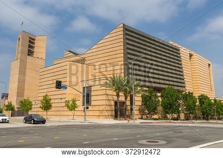 Los Angeles, California, Usa- 11 June 2015: The Cathedral Of Our Lady Of The Angels, Roman Catholic