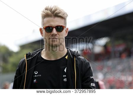 Monza, Italy.8th September 2019. Formula 1 Grand Prix Of Italy. Nico Hulkenberg Of Renault F1 Team I