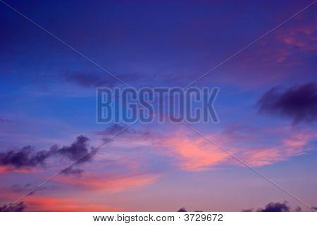 Sunset Sunrise Cloudscape