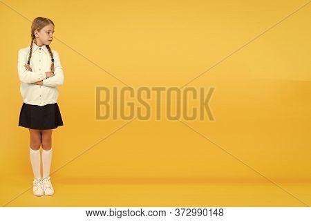 Course In School. Kid Fashion. School Market. Girl In School Uniform. Knowledge Day. Childhood Happi