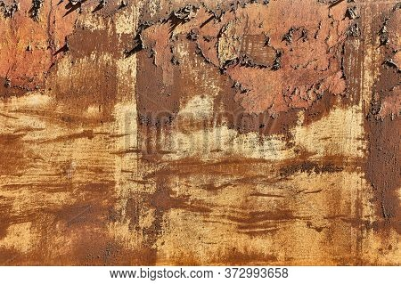 Texture of a stained piece of wall