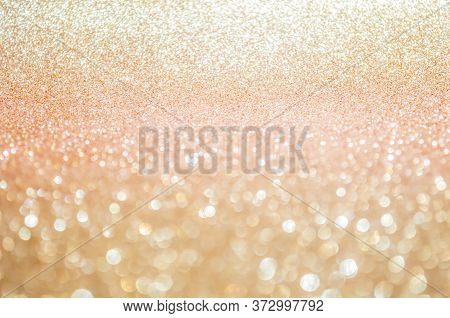 Pink Gold, Pink Bokeh,circle Abstract Light Background,pink Rose Shining Lights, Sparkling Glitterin