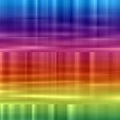 Rainbow 2d background for various design artworks poster
