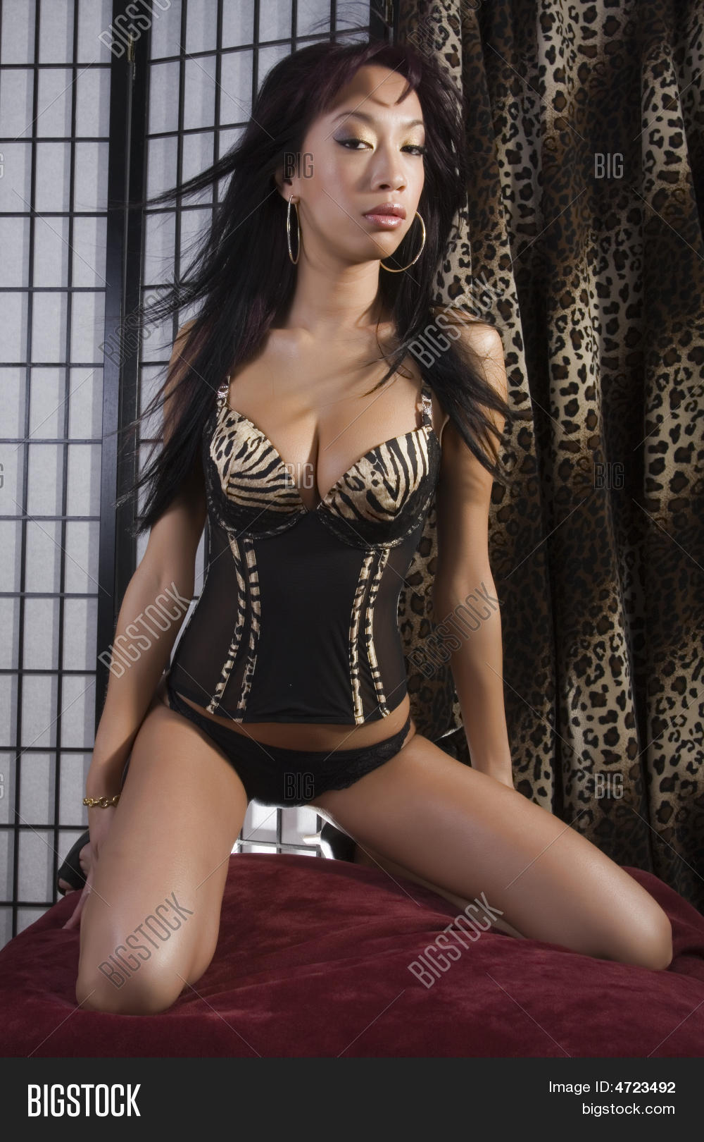 Were visited beautiful asian glamour models
