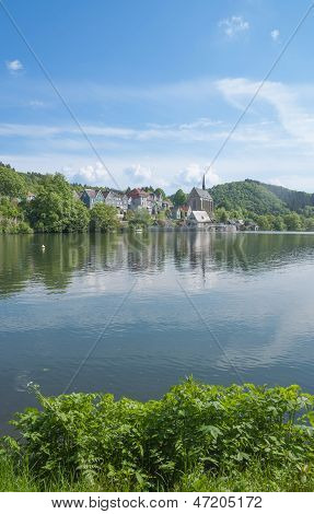 River Wupper Reservoir,Wuppertal,Germany