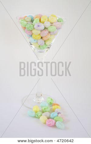 Jelly Bean Martini On White