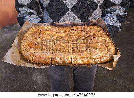 Empanada Gallega, A Typical Food.