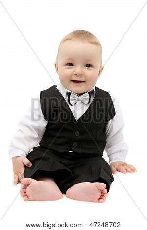 Little Baby In Suit
