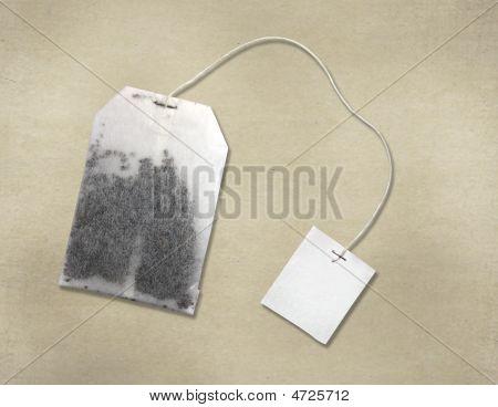 Tea Bag On Parchment